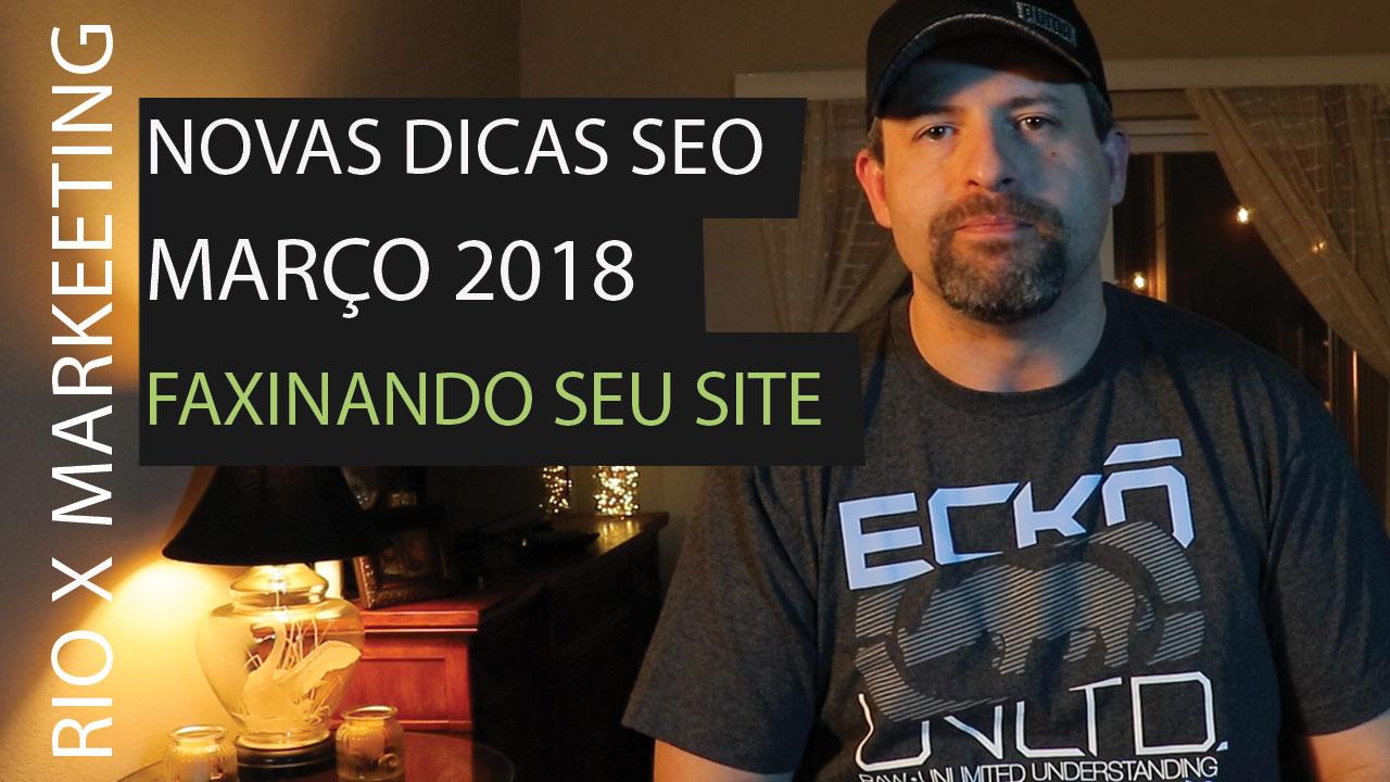 NOVAS DICAS SEO MARÇO 2018